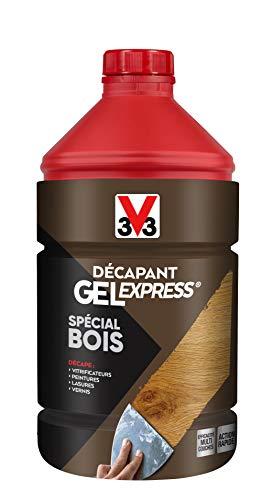 V33 Décapant gel express® bois 2L
