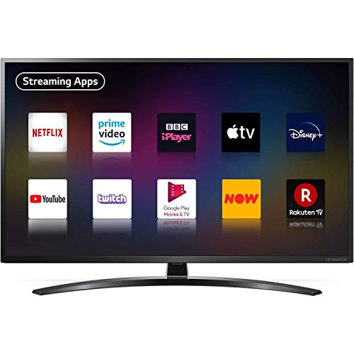 LG 55NANO796NE 55 inch 4K UHD HDR Smart NanoCell TV - Black colour (2020 Model) [Energy Class A]