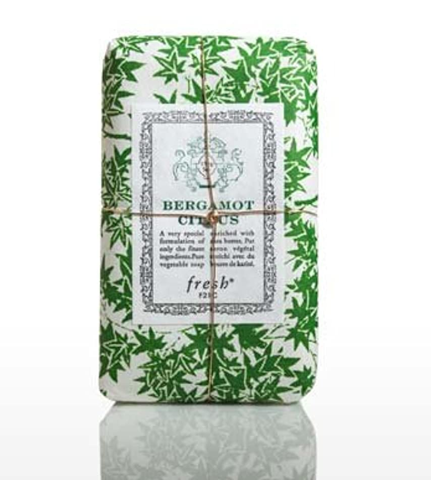 内陸真空舞い上がるFresh BERGAMOT CITRUS (フレッシュ ベルガモントシトラス) 5.0 oz (150g) Soap (石鹸) by Fresh