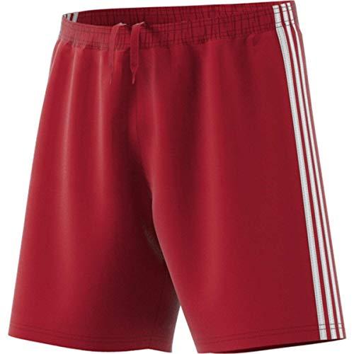 adidas Pantalón Corto Condivo 18 para Hombre, Hombre, Pantalones Cortos, CF0710, Rojo/Blanco, XXL