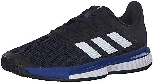 adidas Herren Solematch Bounce M Clay Tennisschuhe Tennis Man, Mehrfarbig (Legend Ink/FTWR White/Team Royal Blue), 47 1/3 EU