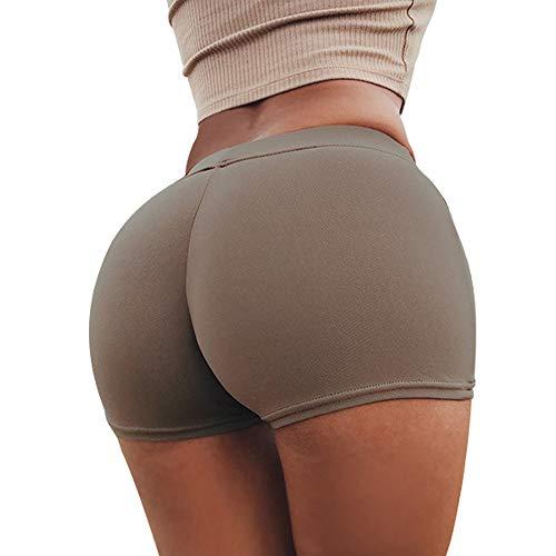 TWIFER Sommer Sport Shorts Fitness Damen Workout Bund Dünne Yoga Kurze Hosen