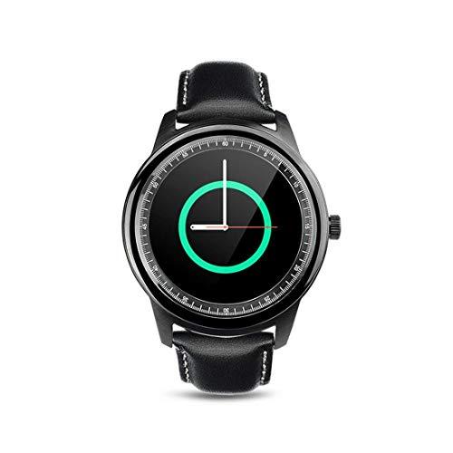 DBSCD DBCSD Uhren 1,33 Zoll On-Cell IPS Vollansicht Kapazitiver Touchscreen MTK2502A-ARM7 Bluetooth 4.0 Smart Watch Phone, Unterstützung Facebook/Whatsapp/Erhöhen auf Hellen Bildschirm/Flip Hand auf