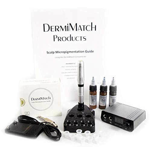 Complete Scalp Micropigmentation kit by DermiMatch
