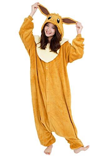 SAZAC Kigurumi - Pokemon - Eevee - Onesie Jumpsuit Halloween Costume...