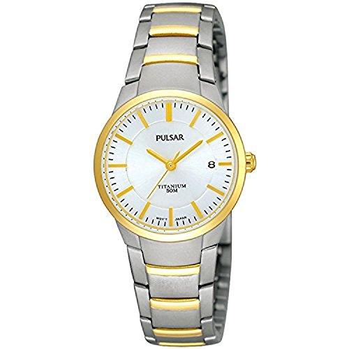Pulsar horloges dameshorloge XS modern analoog titanium PH7128X1