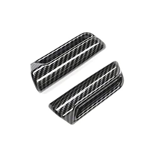 JYXZQZZ ZQZHEM Ajuste para Suzuki Jimny 2019 2020 Coche con Asiento de Fibra de Carbono Ajuste Ajustado Interruptor Interruptor de la Cubierta Cubierta de decoración Pegatina de Ajuste Accesorios