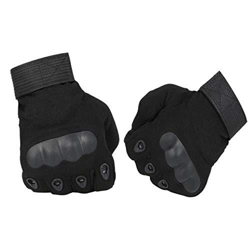 Ballylelly Guantes tácticos Ejército Militar Paintball Airsoft Deportes al Aire Libre Tiro Policía Carbon Hard Knuckle Full Finger Gloves