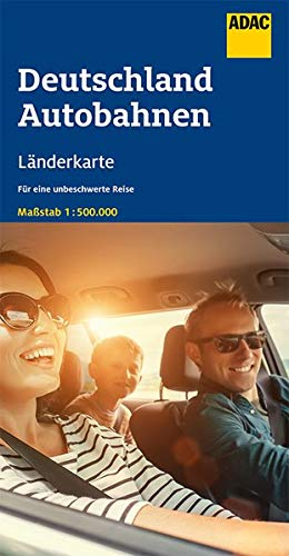 ADAC LänderKarte Deutschland Autobahnen 1:500 000 (ADAC Länderkarten)