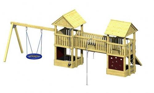Winnetoo Pro Spielturm Variation 8 - öffentliche Spielanlagen