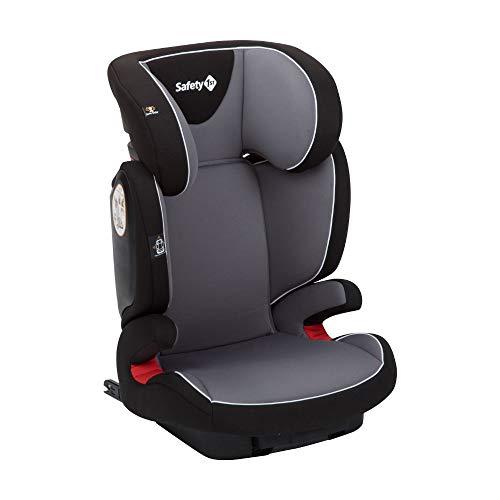 Safety 1st Road Fix-Kindersitz, Gruppe 2/3, praktischer Autositz mit ISOFIX-Installation, höhenverstellbar, nutzbar ab 3 - 12 Jahre, ca. 15 - 36 kg, hot grey (grau), 8765652000