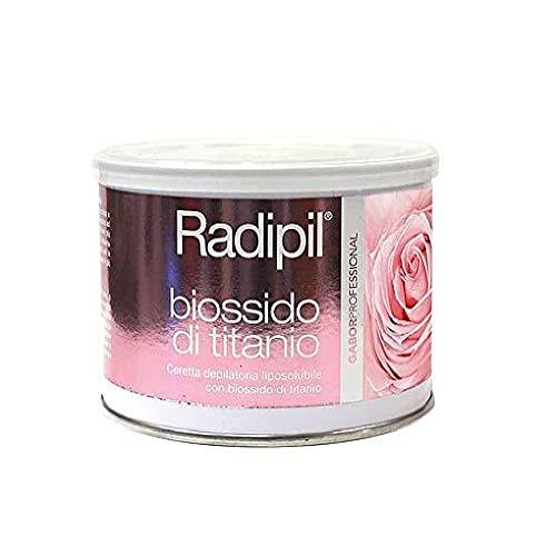 Radipil Biossido di Titanio 400 ml Cera per Depilazione