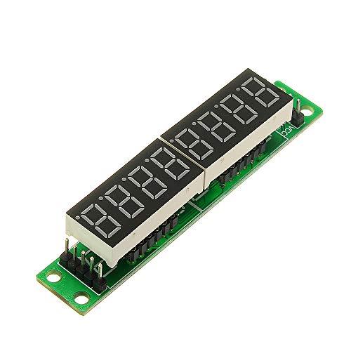 Módulo electrónico 3pcs MAX7219 Rojo 8 bits Módulo LED Tubo Digital Display Equipo electrónico de alta precisión