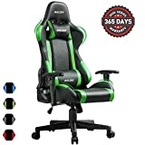 Muzii PC Gaming Chair for Pro,4-Color Choice PU Leather Racing Style Ergonomic...