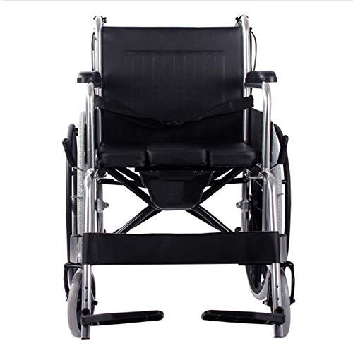 ZHITENG Rollstuhl Für Senioren, Tragbarer Antrieb Transit Reisehand Bremsen Leichte Mobilität Gerät Für Senioren Behinderte, Und Deaktivierte Benutzer T