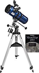 The whole family will enjoy the StarBlast II 4.5 EQ thanks to its great optics, convenient portability, and easy-to-use operation Views of everything from the Moon and planets to distant objects like star clusters and galaxies appear bright and clear...