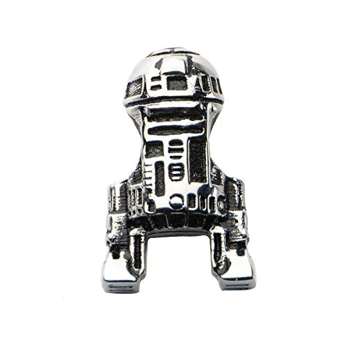Toyzany Star Wars R2D2 Stainless Steel Bead Charm
