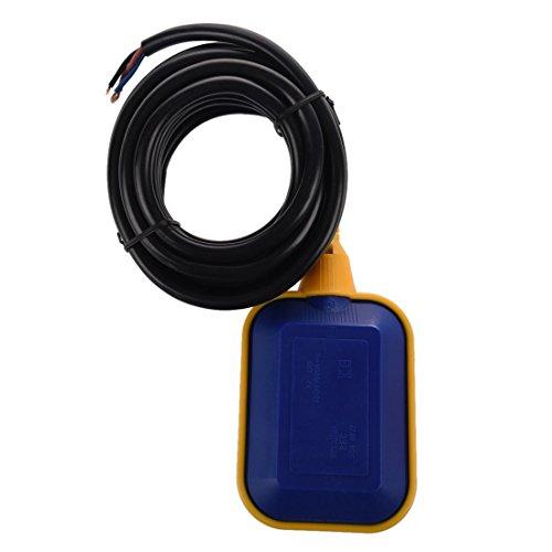 SODIAL flotador cambiar de liquido controlador de sensor de nivel de agua 4M 13,1ft THK2