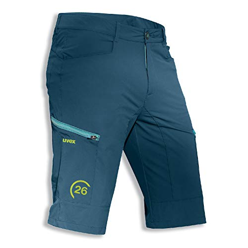 Uvex Kollektion 26 Herren-Arbeitshose - Dunkelblaue Männer-Bermuda-Shorts - Wasserabweisend 62