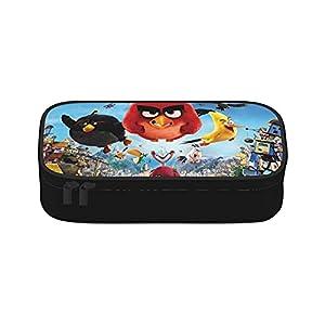 Angry Birds – Bolsas de maquillaje portátil para mujer, lavable, bolsa de cosméticos para viajes, belleza, con…