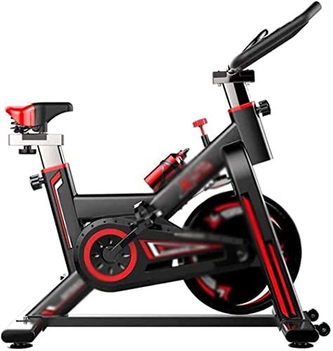 Flat Bikes Bicicletta da interno ultra-silenziosa Spinning Bike Cyclette con display LCD Attrezzatura per il fitness regolabile