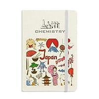 日本の風景の動物の国旗 化学手帳クラシックジャーナル日記A 5