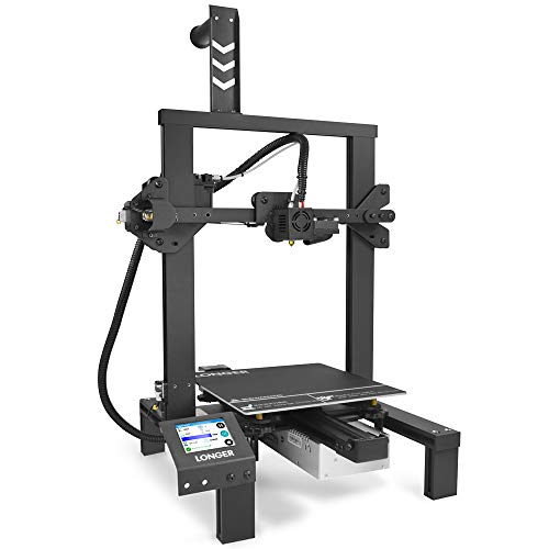 """LONGER LK4 3D Printer DIY Kit with 2.8"""" Full Color Touch Screen, Resume Printing, Built-in Safety Power Supply 220x220x250mm"""