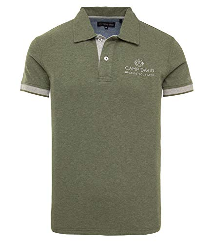 Camp David Herren Poloshirt aus Jersey