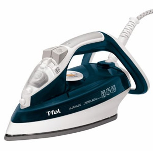 Best Buy! T-fal FV4476 Ultraglide Easycord Steam Iron Ceramic Scratch Resistant Non-Stick Soleplate ...