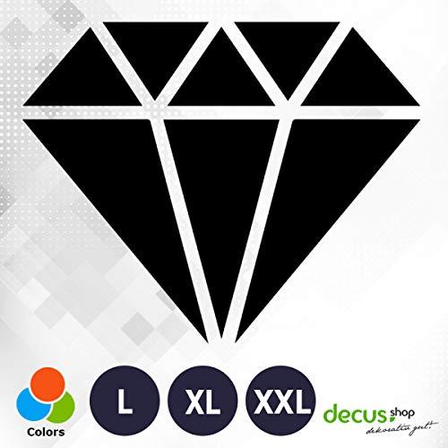 Decus Diamand XL 0224 (schwarz) // Sticker OEM JDM Style Aufkleber