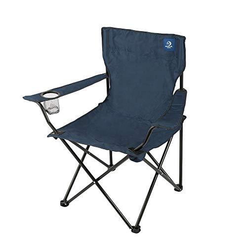 ホールアース(ホールアース) 椅子 チェア スチール アウトドア ラッキータイム WE21DC92 (ネイビー/FF/Men's、Lady's)