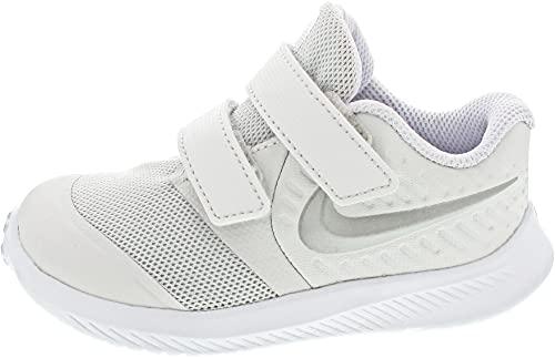 Nike Star Runner 2 (TDV), Scarpe da Ginnastica Unisex-Bambini, Platinum Tint Mtlc Platinum Li, 21 EU
