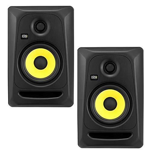 KRK Rokit CL5 G3 Classic Professional Bi-Amp 5' Powered Studio Monitor – Coppia