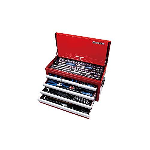 King Tony 911000CR - Caja de herramientas, un conjunto de 219