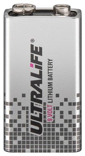 5er Set Ultralife 9 V Lithium (SLM 9 V) Batterie Lithium 9-Volt