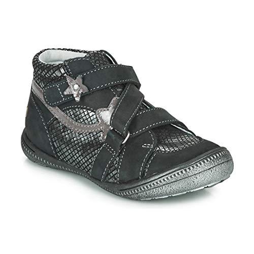 GBB NINA Enkellaarzen/Low boots meisjes Zwart/Zilver Laarzen