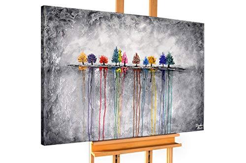 KunstLoft® Acryl Gemälde 'Buoyant Spirit' 120x80cm handgemalt Leinwand Bild