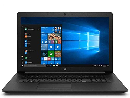 Newest HP Touch 17-by200 High Performance Slim Laptop in Black 10th Gen Intel i7 up to 4.9GHz 16GB RAM 256GB SSD17.3 HD WiFi HDMI (Renewed)