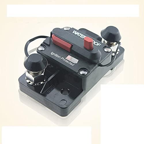 NGHSDO Disyuntores 3 0A 40A 50A 60A 70A 80A 100A 120A 150A 200A 250A 300A Restablecimiento del Fusible del Interruptor 12-4 8V DC Barco de Coche automático Impermeable Diferencial Rearmable