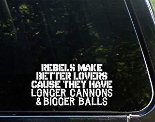 Yilooom Rebels maken betere geliefden omdat ze grotere ballen en langere kanonnen hebben (7-1/2
