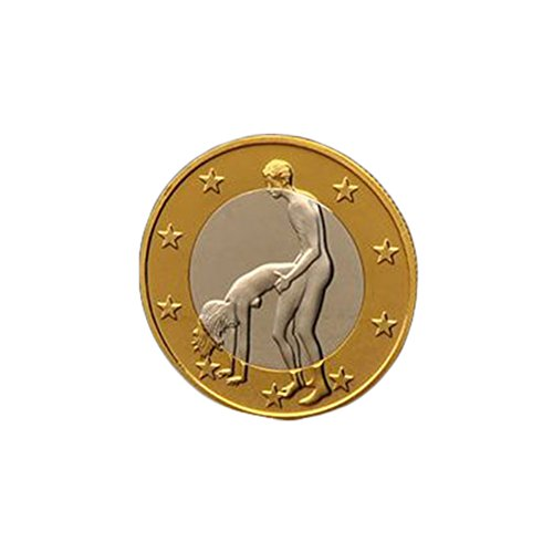 SUPVOX Testa di teste Challenge Coin Commemorative Coins Collection Souvenir regalo