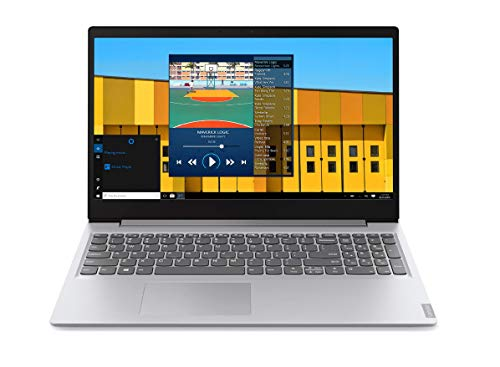 "Lenovo S145-15IWL - Ordenador portátil 15.6"" FullHD (Intel Core i7-8565U, 8 GB RAM, 512 GB SSD, Intel UHD Graphics, Windows 10) gris- Teclado QWERTY español"