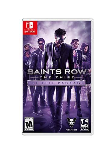 Saints Row The Third - Full Package - Nintendo Switch