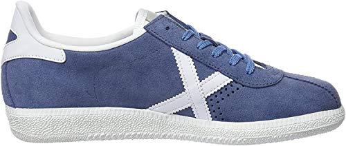 Munich Barru, Zapatillas Unisex Adulto, Multicolor (Azul/White 024), 45 EU
