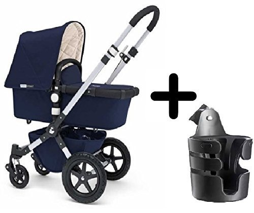 Lowest Prices! Bugaboo Cameleon3 Complete Stroller 2015, Navy (Classic Collection) + Bugaboo Cup Hol...