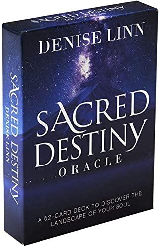 YQRX Sagrado Destiny Oracle, Futura Plataforma de Juegos, Juegos de Mesa interesantes, Familiares y Amigos recogiendo Tarjetas de Tarot (Bolsas, manteles)