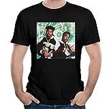 Photo de HAIZHENY T-shirt en coton pour homme Eric B et Rakim -  Noir - Small