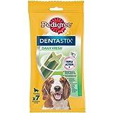 Pedigree Dentastix Fresh - Friandises pour Moyen Chien, 70 Bâtonnets à Mâcher pour L'hygiène Bucco-Dentaire (10 Sachets de 7...