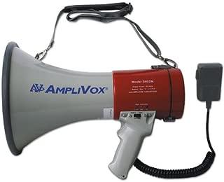 Amplivox S602MR MityMeg Piezo Dynamic Megaphone, 25W w/Coiled Microphone