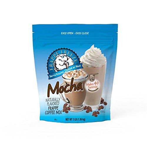 DaVinci Gourmet Frappe Freeze Frappe Coffee Mix Mocha 3 Lb Bag 40 Servings